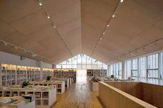 approach architecture studio xi'an den IMC bookstore coffee + gallery + j little theater - designboom