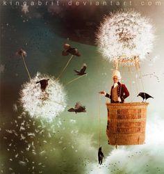 The mystical surreal fantasy art of Kinga Britschgi