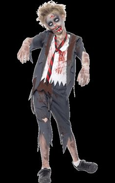 Zombie School Boy Costume | Jokers Masquerade