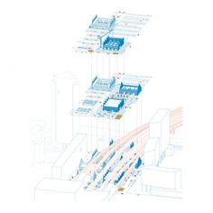 architect_ Tomaso Boano location_Amsterdam, Netherlands project year_ 2017 collaborators_Boano Prišmontas, Valentine Gruwez, Lieve Smout competition_ Europan 14 from the architects_ Piarcoplein L…