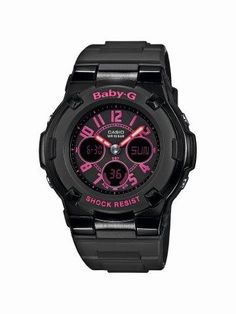 G-Shock Black with Yellow Accents Ana-Digi Baby-G Watch Casio G Shock Watches, Sport Watches, Dream Watches, G Watch, Casio Watch, Baby G Shock, Casio Vintage, Best Sports Watch, G Shock Black