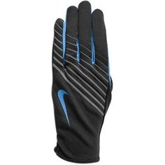 Nike Womens Lightweight Tech Running Gloves XS (Anthracite/University Blue), Enhanced moisture movement, compatible fingertip on thumb allows for convenient use of touch screen devices during workouts, unique Nike graphics for better night visibility, #Sporting Goods, #Gloves