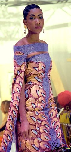 Maureen Ayité, designs for Nana Wax - Benin