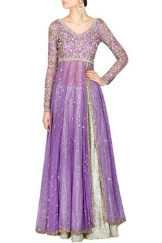Lilac anarkali set   #purple #anarkali #carma #carmaonlineshop #style #fashion…