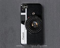 Vintage appareil photo Canon iPhone Case, couverture de l'iPhone, iPhone 5c cas, 5 s, 5 cas, iPhone 4/4 s cas, iPod touch 4 cas, ipod 5 case iPhone sur Etsy, $10.94 CAD