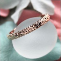 Nice 45 Vintage And Luxury Rose Gold Engagement Rings Ideas. More at https://wear4trend.com/2018/02/24/45-vintage-luxury-rose-gold-engagement-rings-ideas/ #luxuryvintage