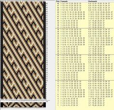 37 tarjetas, 4 colores, repite cada 12 movimientos // sed_214༺❁