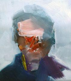 """Steve Salo - """"Passerby-Flinders Street"""", 2014"""