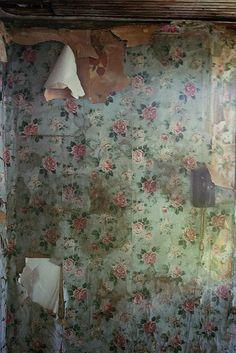 Chipping Paint & Peeling Wallpaper...