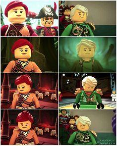 • #LEGO #NINJAGO  [ Skylor & Lloyd ]  Edit made by me  Hope u like it :)