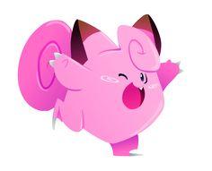 Clefairy by Kuitsuku on DeviantArt Snail Cartoon, All Pokemon, Pokemon Team, Pokemon Stuff, Just Video, Disney Crossovers, Catch Em All, Super Smash Bros, Digimon