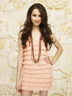 Spencer (PLL). I am obsessed with her character. Smart, bold, strong...