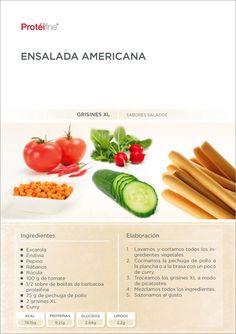 Si te encuentras en casa y estás por preparar tu comida, llegamos a tiempo para proponerte en nuestro blog de nutrición - Nutrición Equilibrada, la siguiente receta: una deliciosa Ensalada Americana.