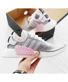 wholesale dealer 58d8a 6cbf7 Adidas NMD W Premium Water Pink Wolf Grey Cheap Adidas Nmd, Womens Nmd,  Adidas
