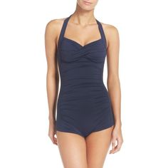 b920e7a556 Women s Seafolly One-Piece Swimsuit ( 142) ❤ liked on Polyvore featuring  swimwear