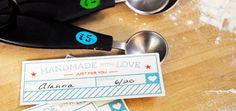 Homemade Food Tags