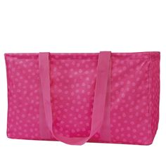 Large Utility Tote Might have to get this just because it's pink. $35.
