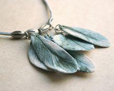 feather pendants/beads