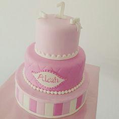 Baby girls cake