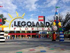 Legoland Entrance  #Legoland, #Florida