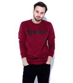 MONSIEUR sweatshirt burgundy