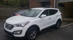 Purchased this 2015 Hyundai Sante Fe off-lease for a local Atlanta client. White on tan, Backup camera, heated seats. Alloy Wheels and 9,000 miles. Books and 2 keys. As new condition.Her drive out cost with taxes all in was $23,565