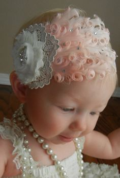 I have to have this headband for Eli's birthday. Her daddy will kill me but it is going to happen. GWG Original Design  Swarovski crystal and by GrownWithGrace, $28.00