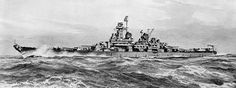 Designed for an Earlier Time: The Montana-class Battleships: Montana-class Battleship, artist's rending