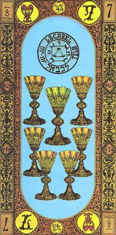 7 of Cups - tarot card - TA- Kelche - 07