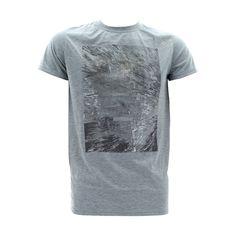 Diamond Dollars - Men's Shooting Star Foil Print T-Shirts - Heather Grey