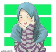 Hijab muslimah anime okul kızı, manga çizimi, pin up cartoons. Hijab Drawing, Manga Drawing, Girl Cartoon, Cartoon Art, Islamic Cartoon, Bff Drawings, Hijab Cartoon, Islamic Girl, Anime Version