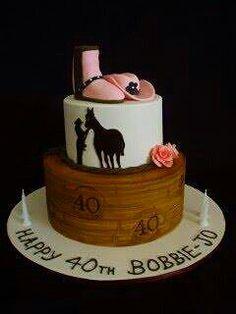 Cowgirl cake♡