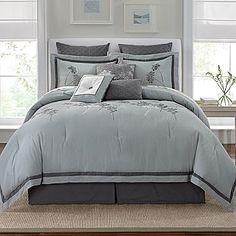 Linden Street Silver Fern Comforter Set From JCP