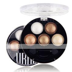 EUR € 3.99 - heldere stereo 5 kleuren oogschaduw ubub roast oog poeder metallic glans (6 kleuren te kiezen), Gratis Verzending voor alle Gadgets!