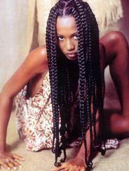 Jumbo box braids