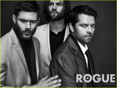 Jensen, Jared, Misha, Rogue Mag