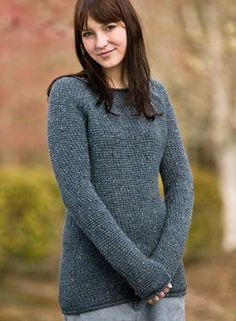 Comfy Boyfriend Crochet Sweater Pattern - Knitting Patterns by Melissa Horozewski