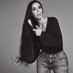 Kim Kardashian West as Cher Kourtney Kardashian, Kim Kardashian Braids, Kardashian Photos, Kardashian Style, Kardashian Jenner, Kardashian Hairstyles, Kardashian Family, Tgif, Kendall Jenner