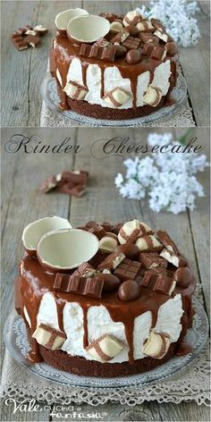 MPOWER/// Cheesecake Cake, Chocolate Cheesecake, Cheesecake Recipes, Biscotti Cheesecake, Pie Dessert, Dessert Recipes, Nutella, Torta Angel, Cooking Cake