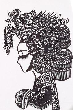 paper cutting art | Sunday, December 18, 2011