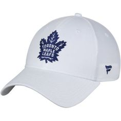 df27095b Men's Fanatics Branded White Toronto Maple Leafs Elevated Core Structured  Adjustable Hat Toronto Maple Leafs,