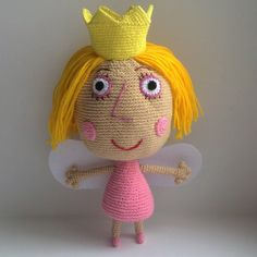 Princess+Holly+By+Ben+and+Holly's+Little+Kingdom+by+Amigurushki                                                                                                                                                                                 More