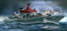 Reach Navy Destroyer (late)