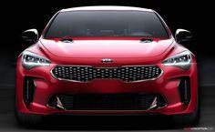 2018 Kia Stinger GT Revealed at Detroit Auto Show