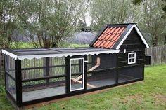 Chicken Coop Designs, Cute Chicken Coops, Chicken Barn, Chicken Cages, Chicken Coup, Backyard Chicken Coops, Chicken Coop Plans, Building A Chicken Coop, Chickens Backyard