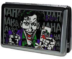 Joker Card and Gun Business Card Holder $15.99