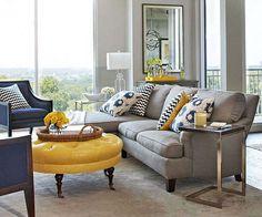 Come arredare il soggiorno con il grigio (Foto 20/40)   Designmag