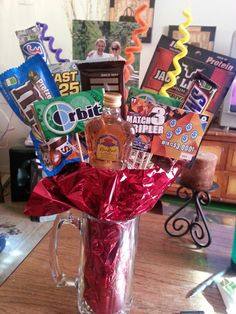 Father's day man bouquet!