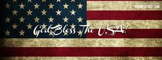 United States Navy Facebook Covers | God Bless The USA Flag Facebook Cover
