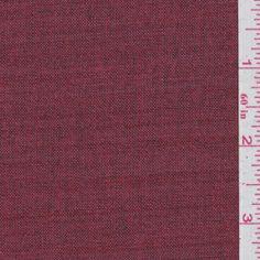 Brick Red Linen (FFC)